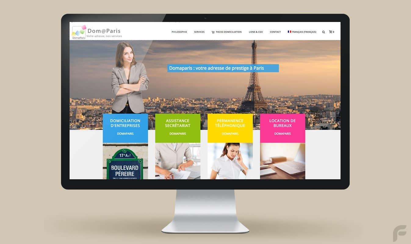 Frametonic Création de sites internet marketing digital TPE PME - Domaparis