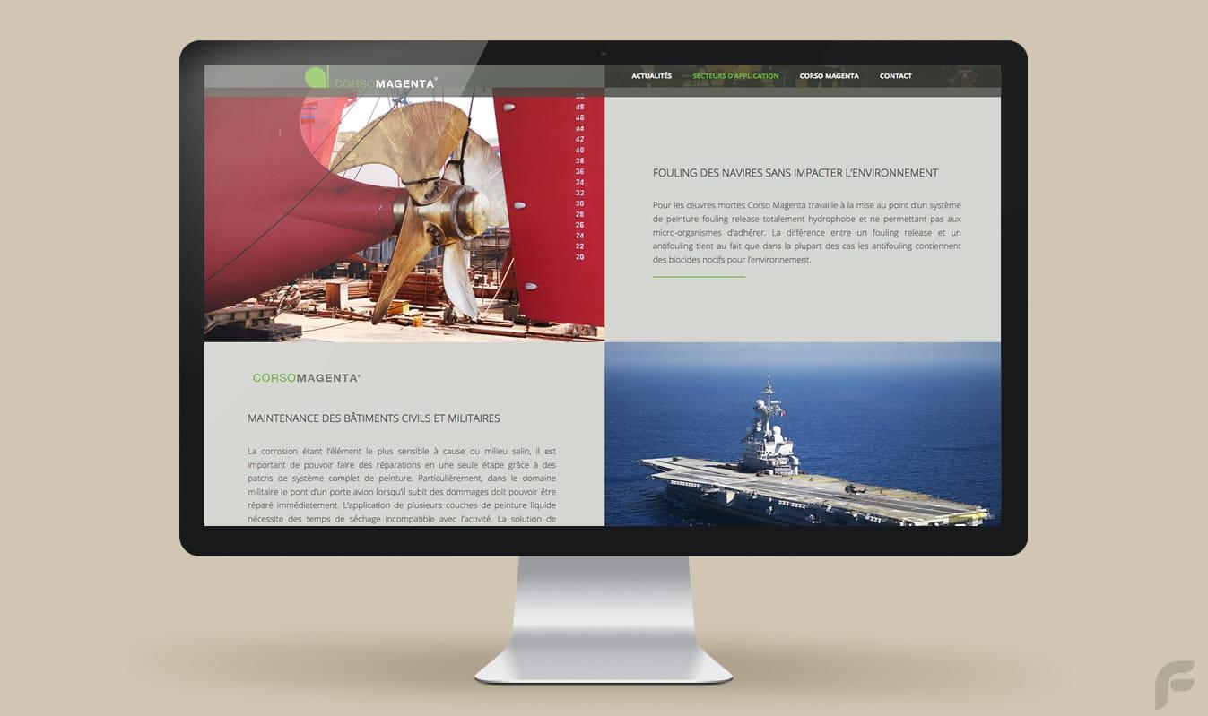 Frametonic Création de sites internet TPE PME - Corso Magenta