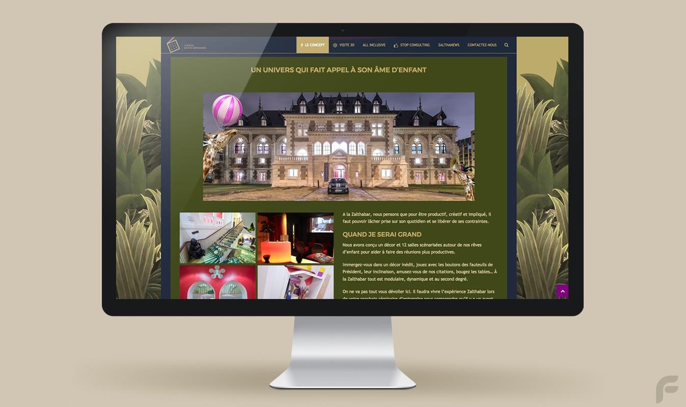 Frametonic Création de sites internet TPE PME - Zalthabar